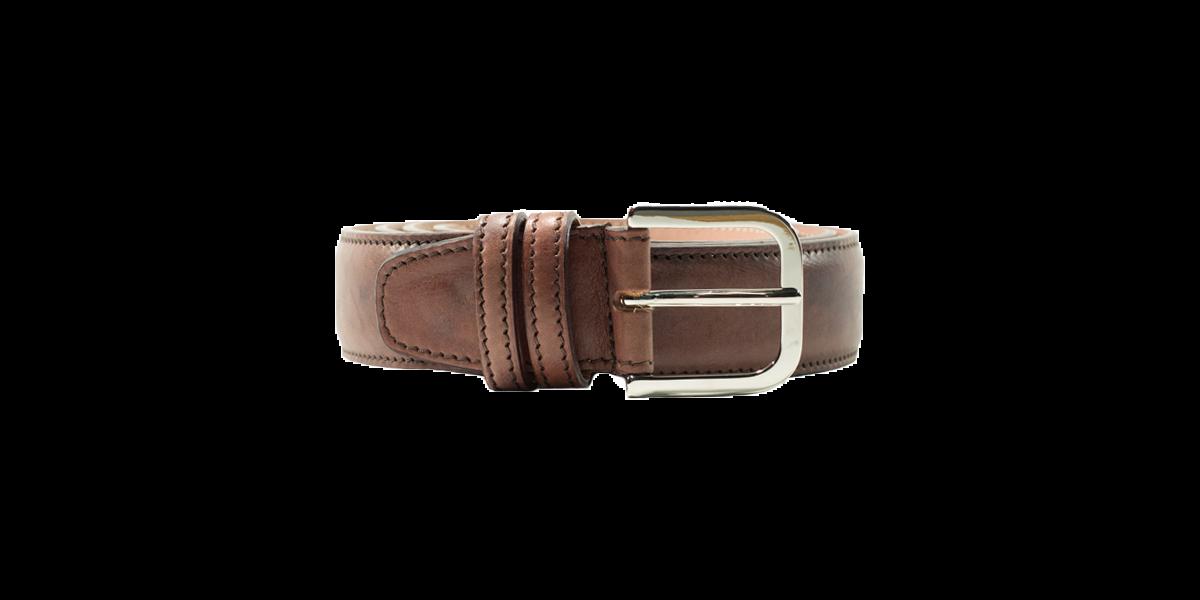Cintura Vacchetta testa di moro