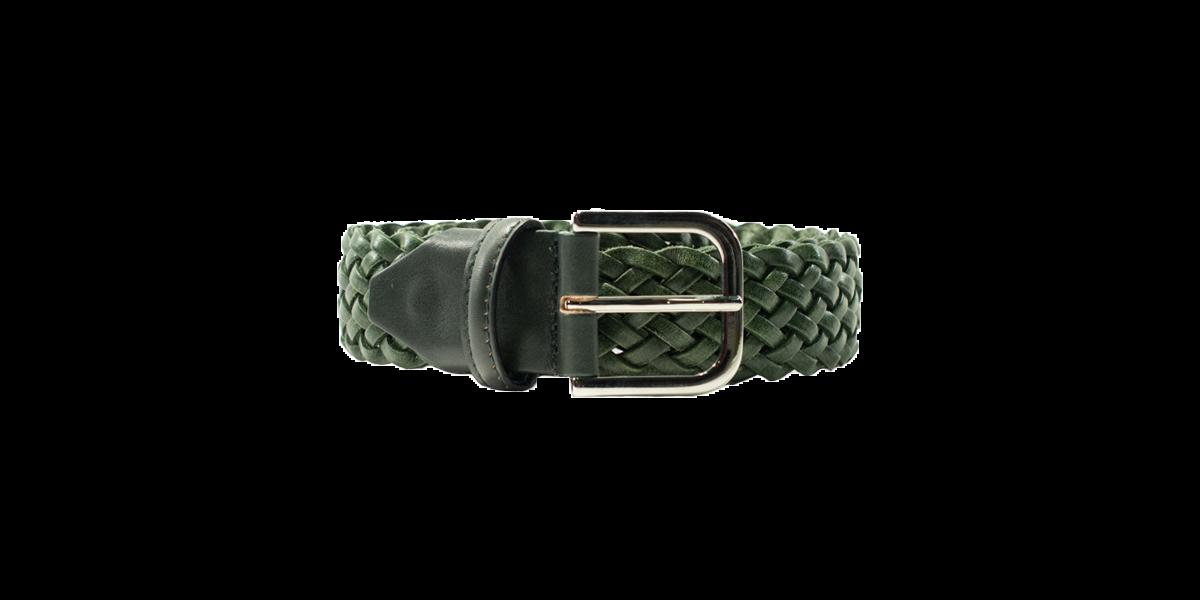 Cintura intreccio piccolo verde