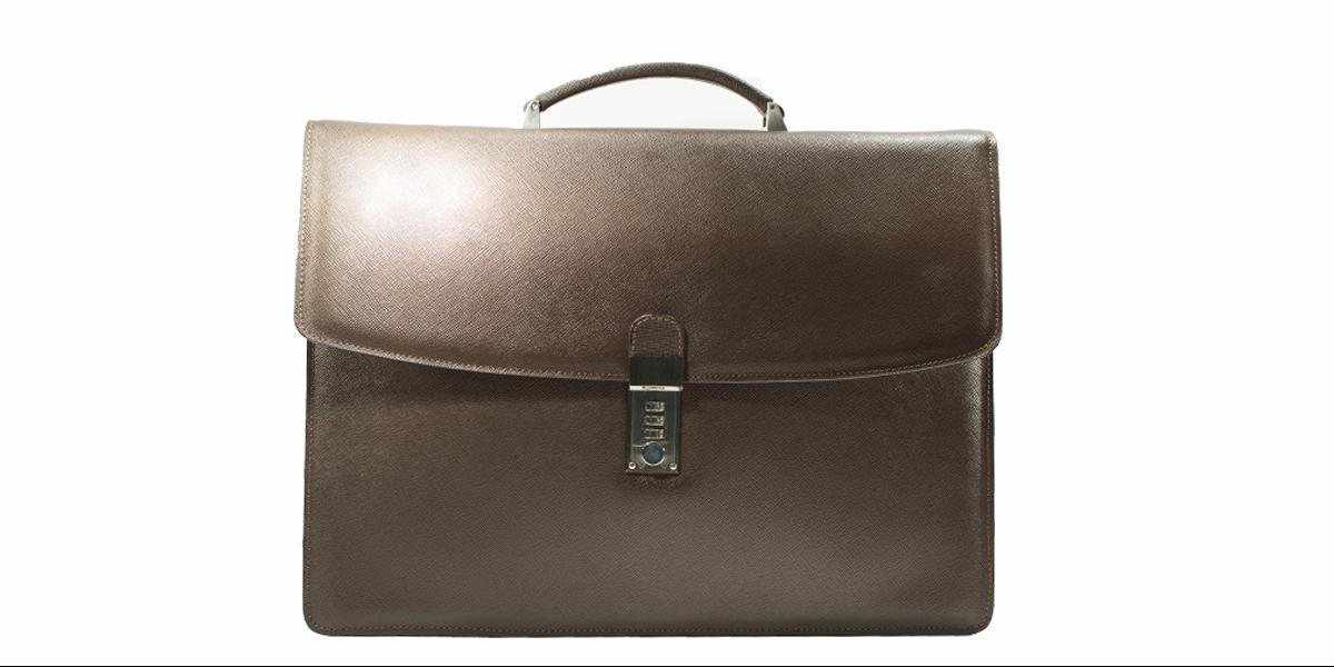 Collezione Lugano leather saffiano
