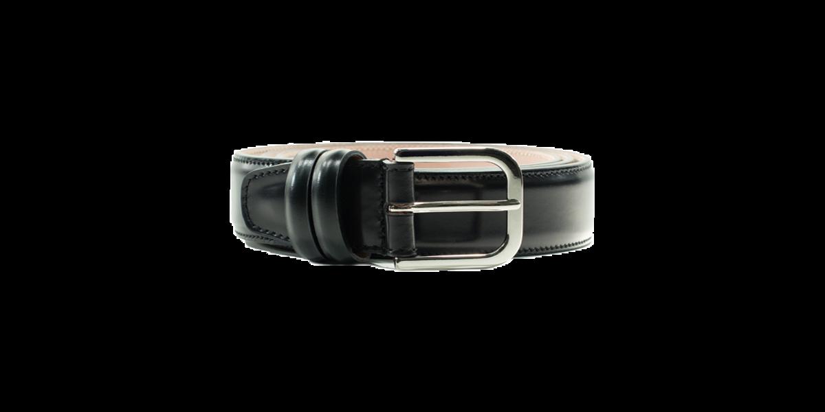 Cintura spazzolato nero